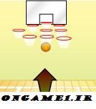 بازی آنلاین دونفره بسکتبال